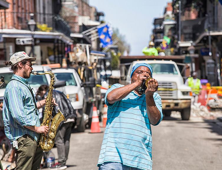 Street Musician, French Quarter, New Orleans