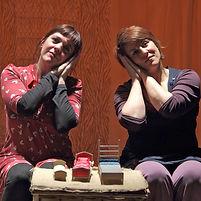 Motus et Bouche cousue, spectacle conte et musique de Sophie Verdier et Claire Marion à partir de 3 ans