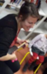 Claire Marion, formation en éveil musical du jeune enfant