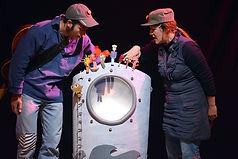 o douce, eau salée, spectacle musical de Claire Marion et Antonin Jouan à partir de 1 an