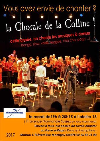 Claire Marion, chorale de la Colline Dieppe