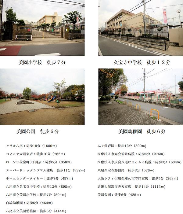 プレミアムステージ久宝寺口駅前の周辺環境