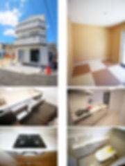 プレミアムステージ稲田上町物件ページのモデルハウス写真