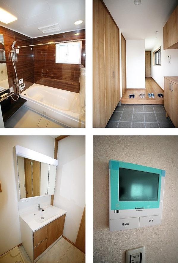 プレミアムステージ稲田上町物件ページのバス、トイレの写真