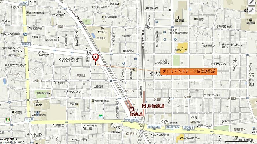 プレミアムステージ俊徳道駅前地図.png