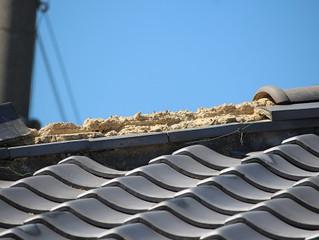 屋根の復旧工事で思うこと。