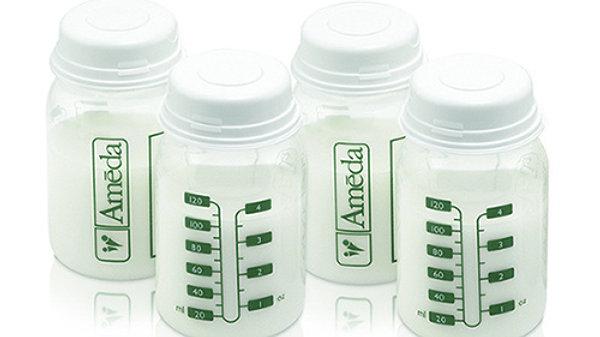 Breast Milk Storage Bottles (Set of 4)