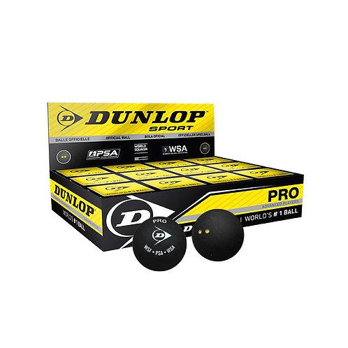 Dunlop Pro Squash Balls (Box of 12)