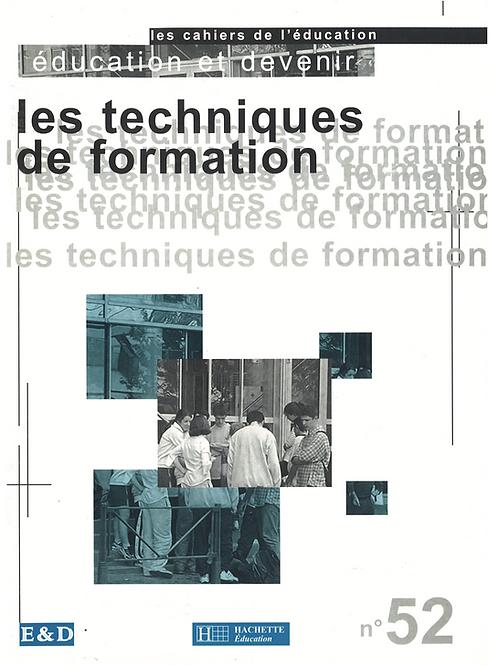 Mars 2000 - Cahier 2000_2 - Les techniques de formation
