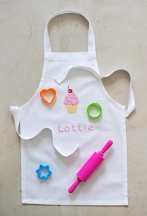 Toddlers Personalised Cupcake Apron