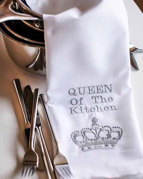 Queen of the Kitchen Tea Towel