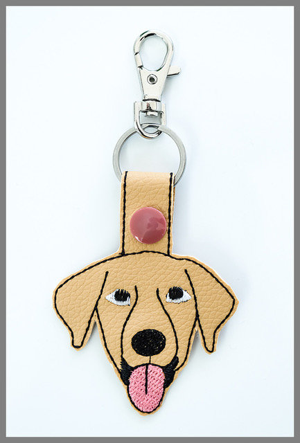 Dog Key Fob/Bag Charm