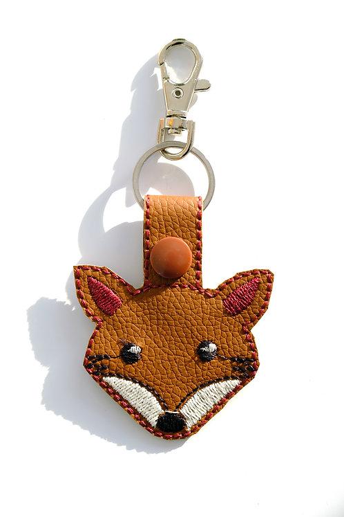 Fox Key Fob/Bag Charm