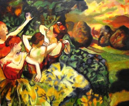 Degas' ballerina replication