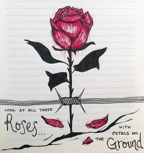 """""""Rose petals"""""""