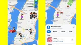 خريطة سناب شات تقترح لك أماكن يمكنك زيارتها