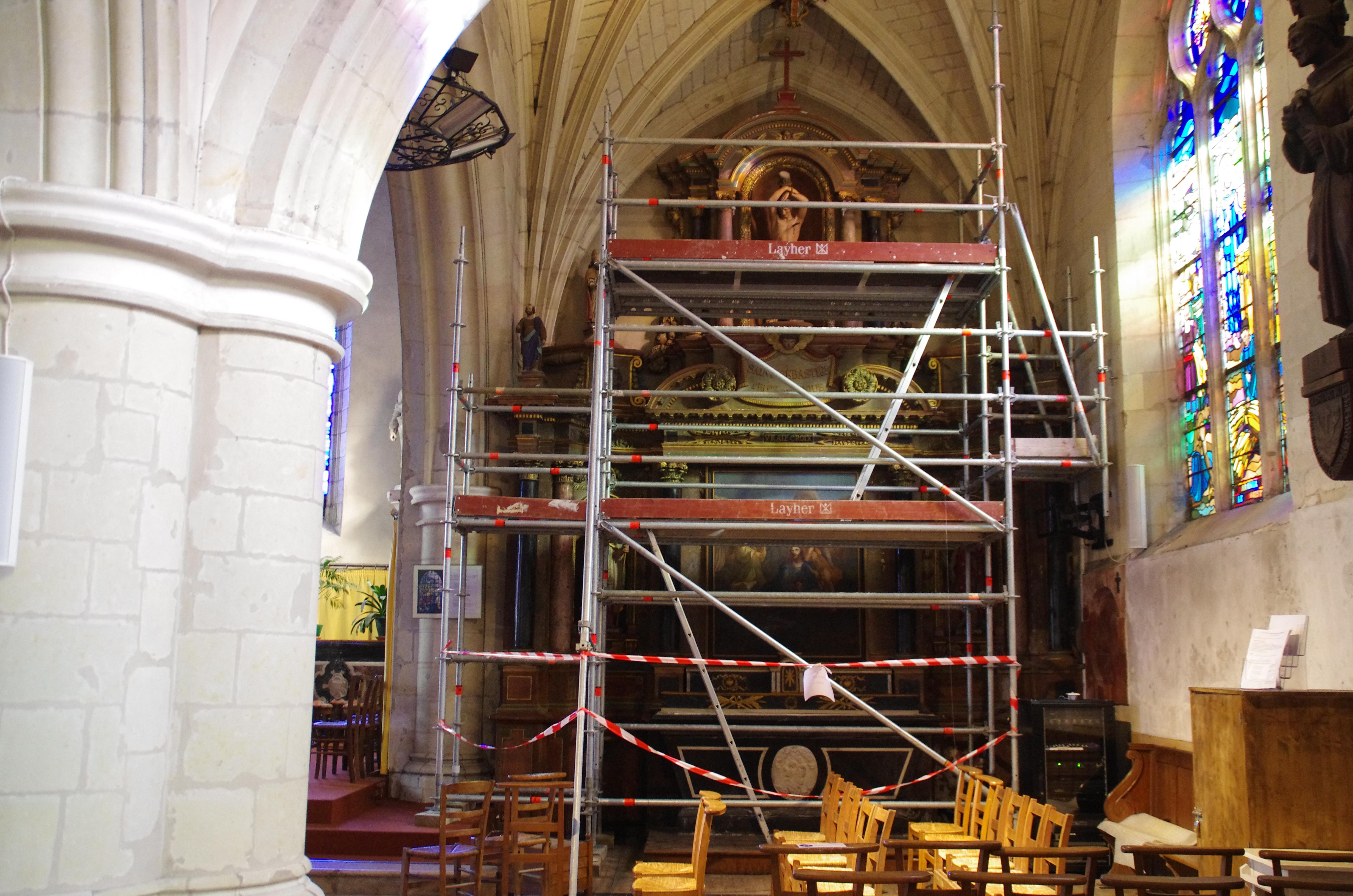 Ancenis,_église_Saint_Pierre_,_étude_d