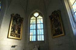 Vue générale du choeur de l'église