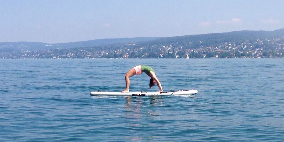 SUP Yoga in Thalwil