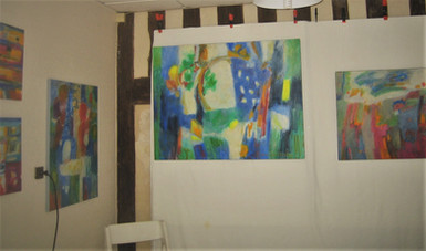Exposition de peintures à Evreux 2013