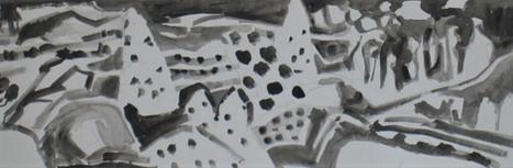Encres de Chine Paysages de Cappadoce