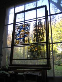L'atelier aux 1ères portes ouvertes en 2006