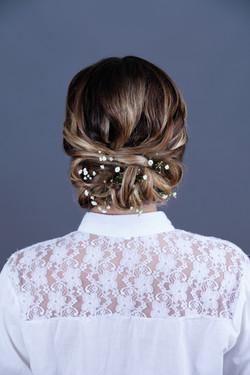 Peinado por Margarita Vial.
