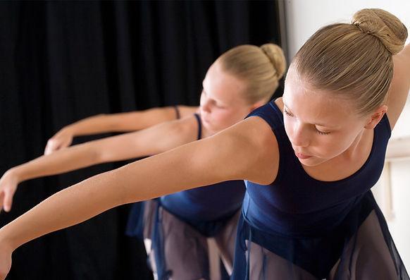 Ballet Kids dancing