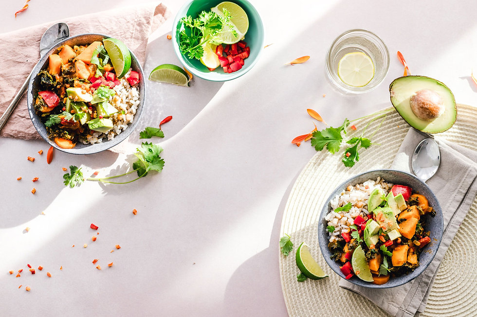photo-of-vegetable-salad-in-bowls-164077