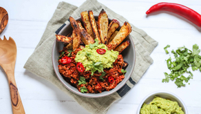 Simple Chilli and Sweet Potato Chips