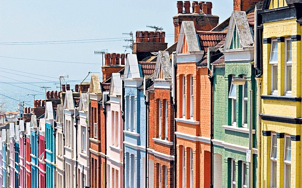 Brighton Painted Houses