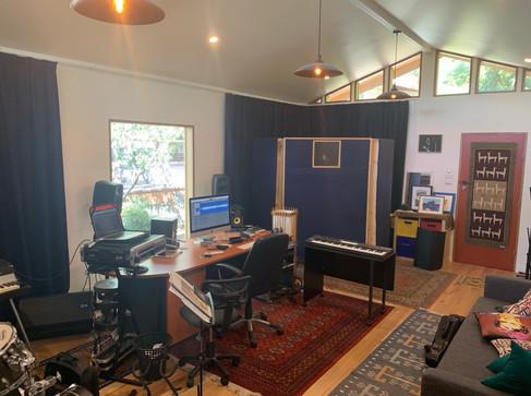 Red Iris Studios interior