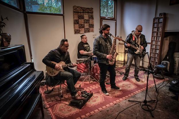 Wairua Band Live Room Red Iris Studios