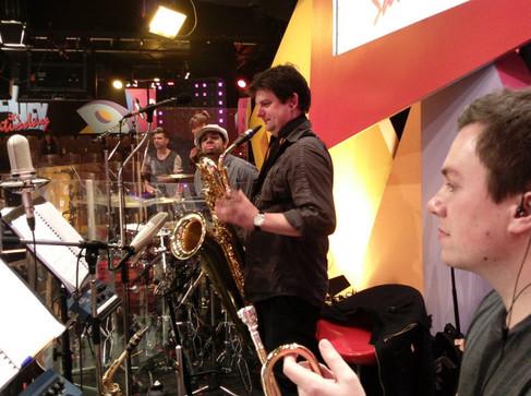 Hey, Hey It's Saturday Band pre-show