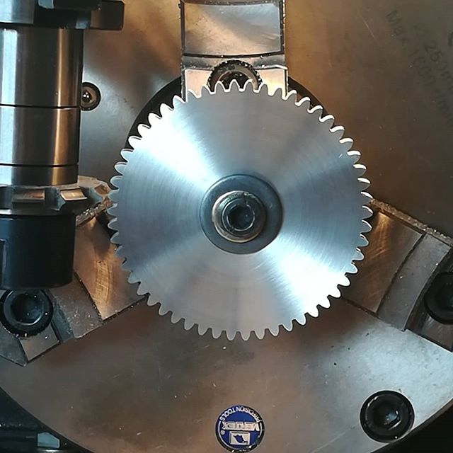 54T  Metric  Gear finished now.  Not to