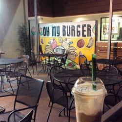 Oh My Burger Mural