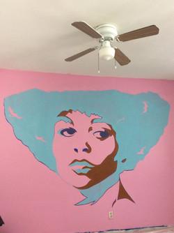 Angela Davis Mural