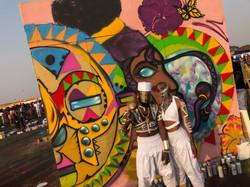Afrochella Mural