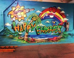 Happy Endings Mural