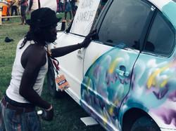 Smart Car Mural