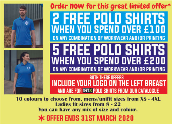 FREE POLO SHIRTS for send in blue.jpg