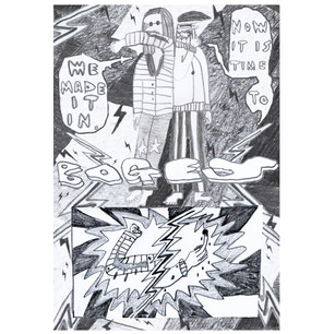 BOGEY WONDERLAND - COLLABORATIVE COMIC WITH KATIE PRIDHAM