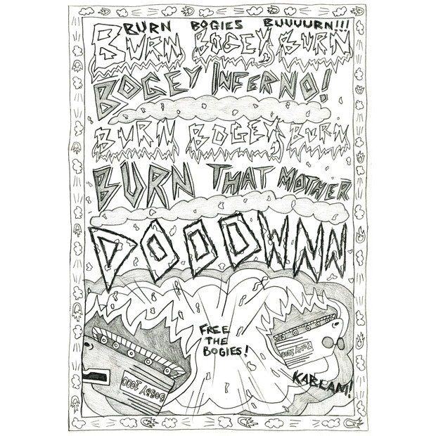 BOGEY WONDERLAND - COLLABORATIVE COMIC WITH KATIE PRIDHAM
