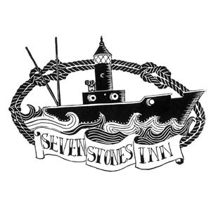 Sevenstones Inn Logo Linoprint