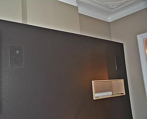 Enceintes monitor audio custom pour home cinéma