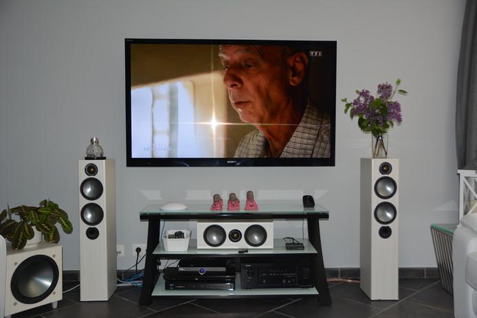 Ensemble système home cinéma de base