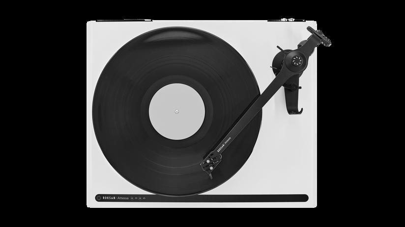 Platine vinyle Roksan Attessa surface blanc