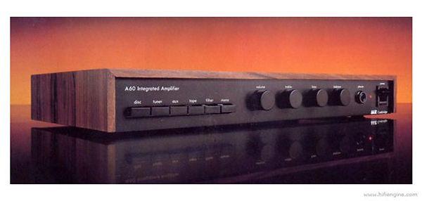 Amplificateur intégré Arcam A60