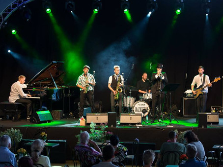 """""""Jazz i Rosenhaven"""" HASTER MED AT UDSENDE DENNE NYHED FRA """"JazzDanmark"""" - LYT MED PÅ TORSDAG D. 30/4"""