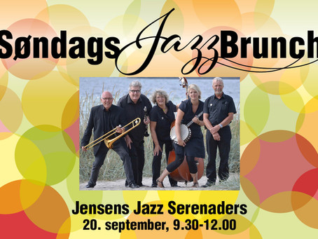 ROYAL STAGE BYDER PÅ BRUNCH OG JAZZ